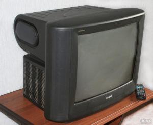 Телевизоры с кинескопным экраном