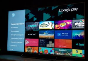 Sony. ОС – Android TV