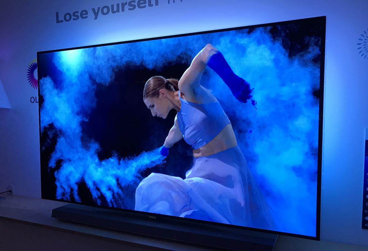 В OLED TV энергопотребление зависит от яркости передаваемой картинки