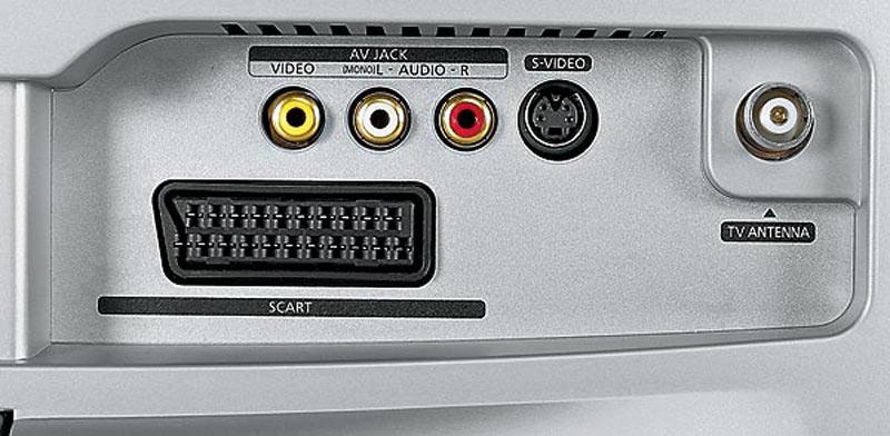 Разъем SCART на телевизоре