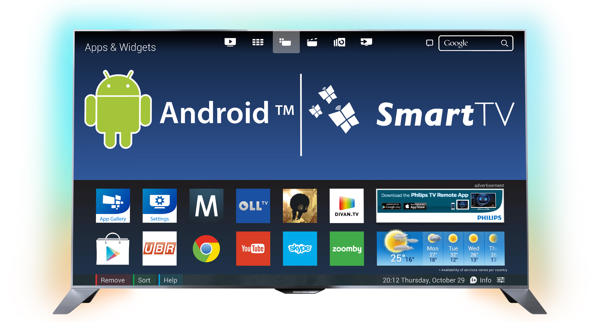 ОС Android TV