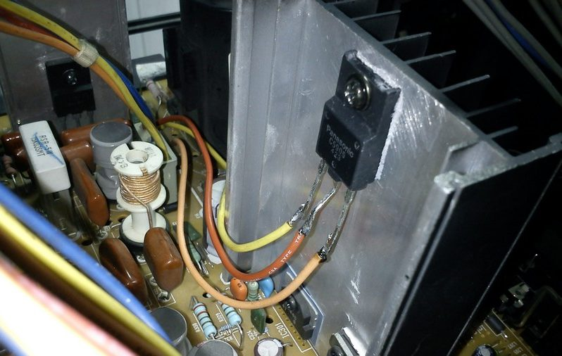 Транзистор телевизора