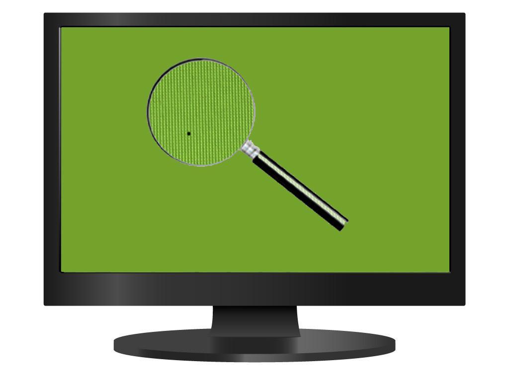 Битые пиксели на экране ТВ