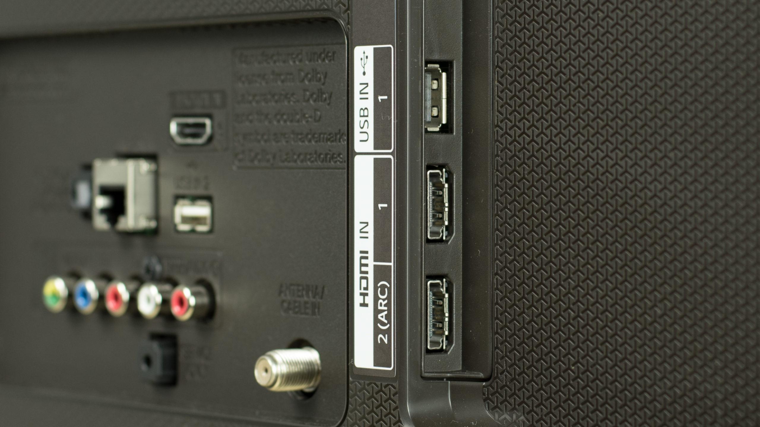 HDMI и USB порты