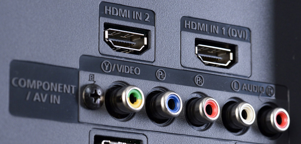 Разъемы для HDMI или AV