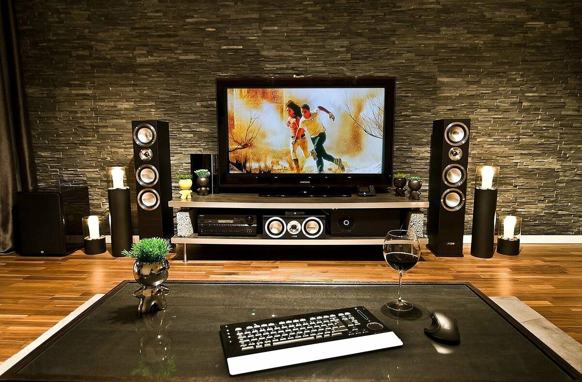 Подключение домашнего кинотеатра к телевизору - как это сделать?