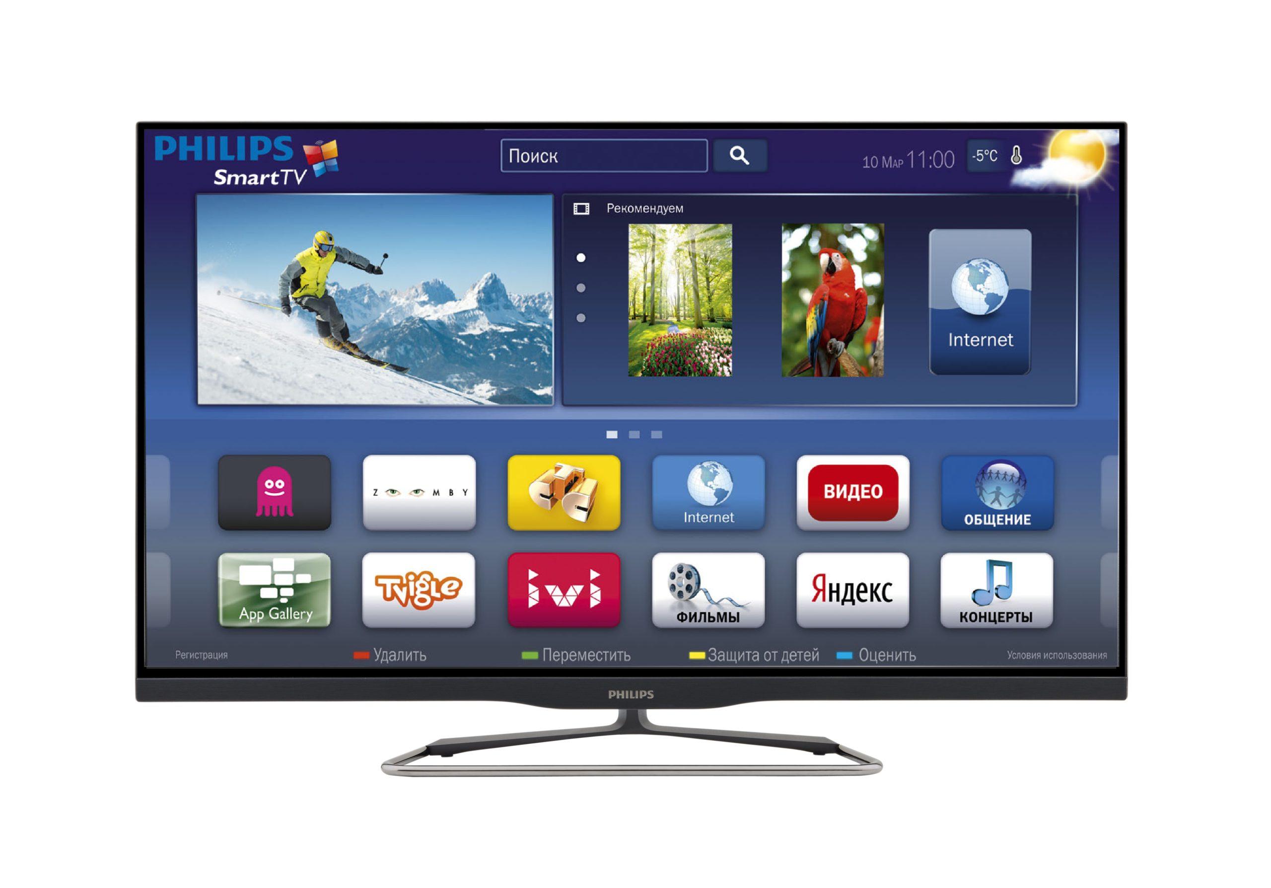 Смарт ТВ от Philips