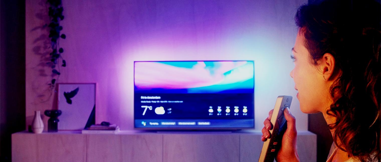 Телевизор с голосовым управлением